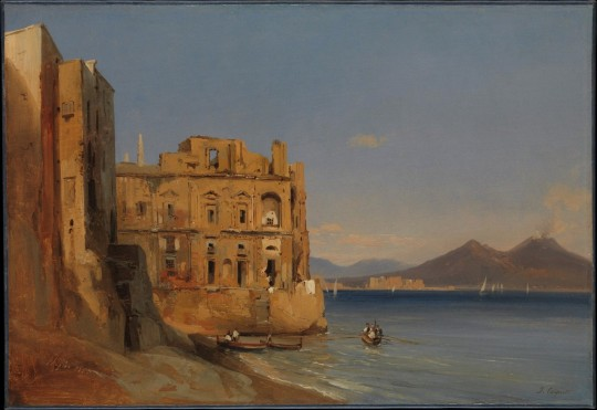 jules-coignet-the-palace-of-donn-anna-naples-1843