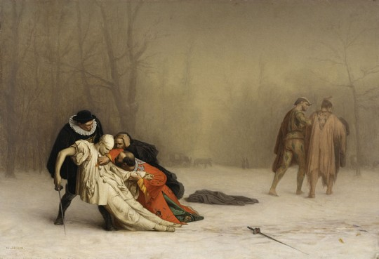 800px-Jean-Léon_Gérôme_-_The_Duel_After_the_Masquerade_-_Walters_3751