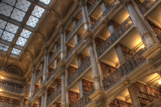 the_peabody_library_by_papayacrazy-d5vr4cc