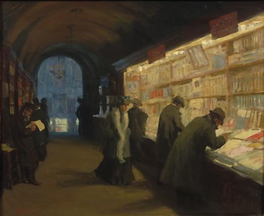 Paris bookstore, 1904