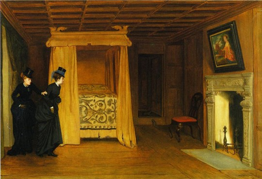 William Frederick Yeames A Visit to the Haunted Chamber