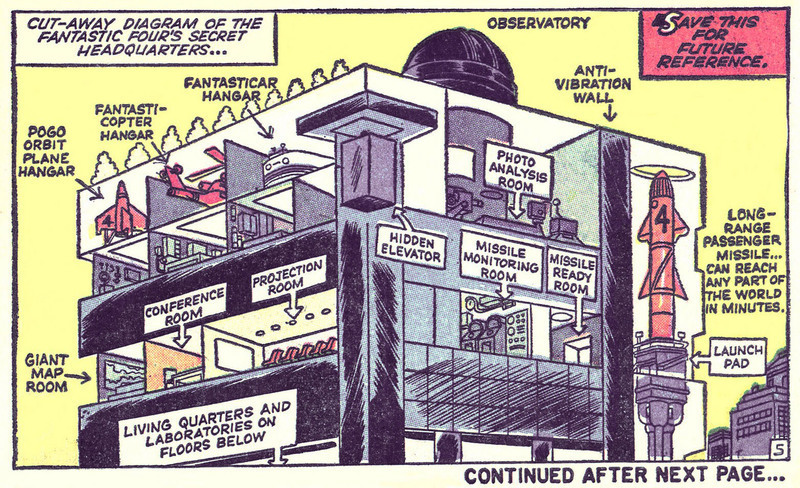 Comic Cutaway