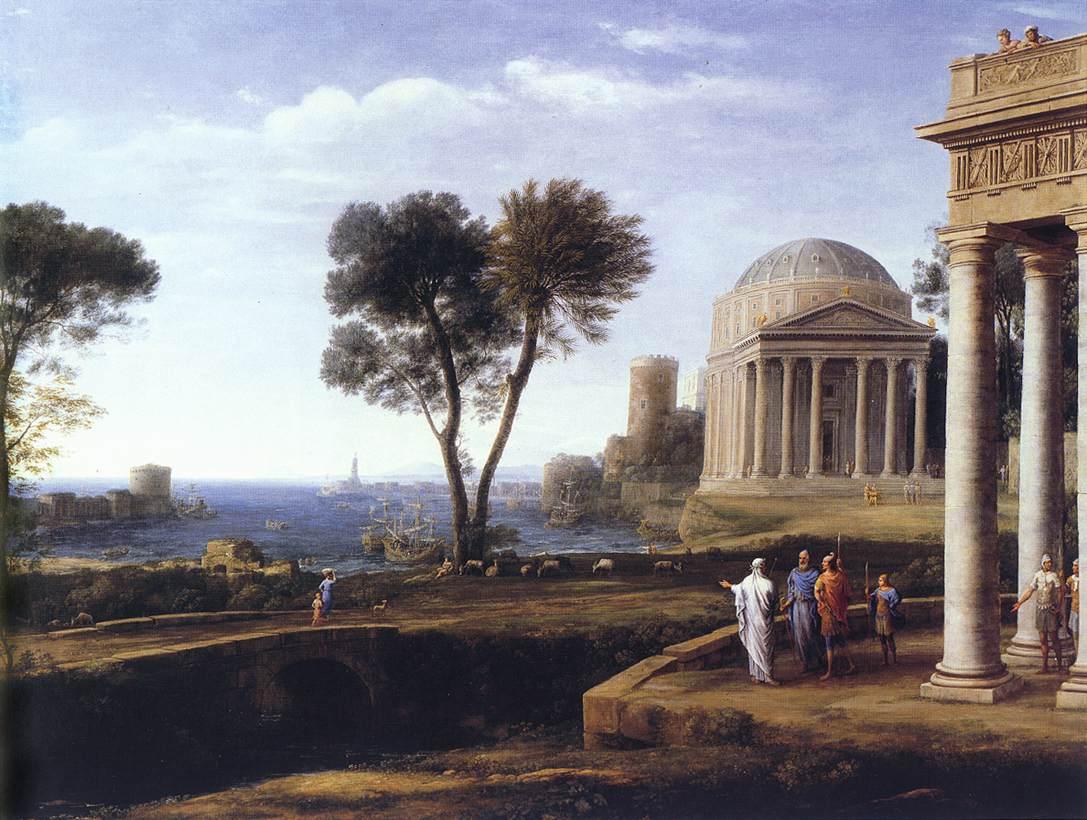 Claude Lorrain, 1672