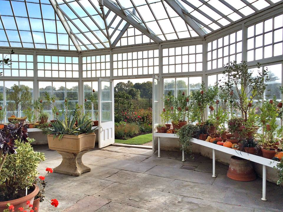 Clumber Park kitchen garden