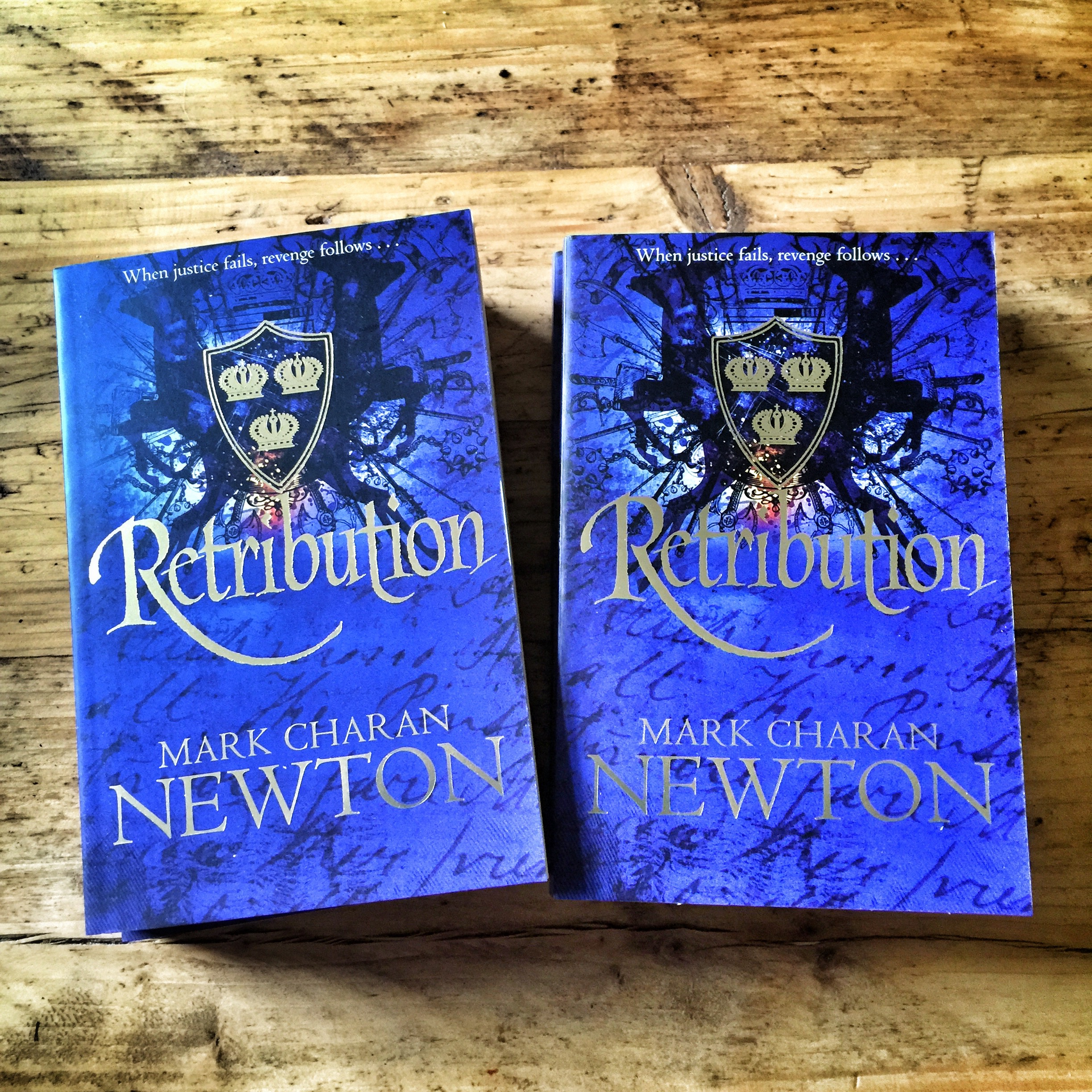 Retribution paperback copies