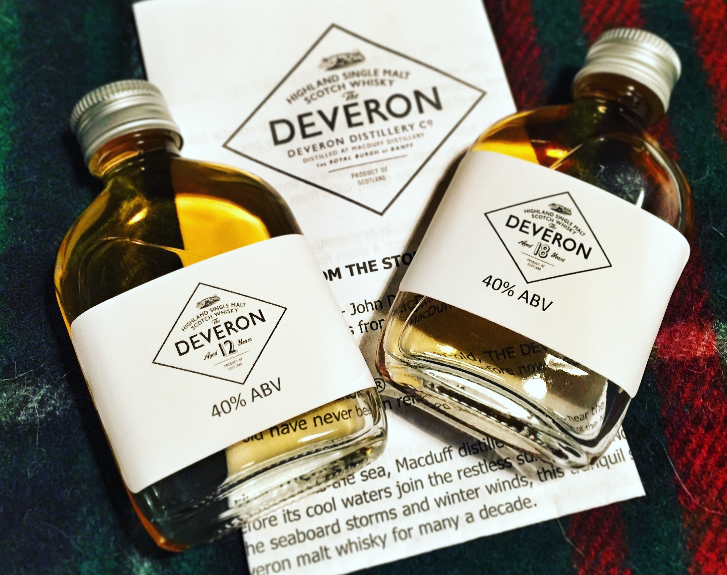 Whisky samples